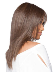Smooth , silky heat friendly synthetic fiber that feels just like your own hair