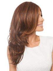 Layers are cut and styled to flow and cascade | Color: HT3329S+