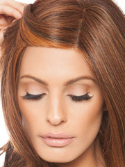 Hand-tied lace front and monofilament part give an extremely natural look | Color: HT3329S+