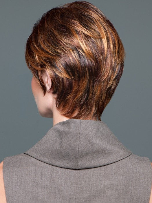 Wispy neckline hugs the neck for comfort and a natural look | Color: GL29-31