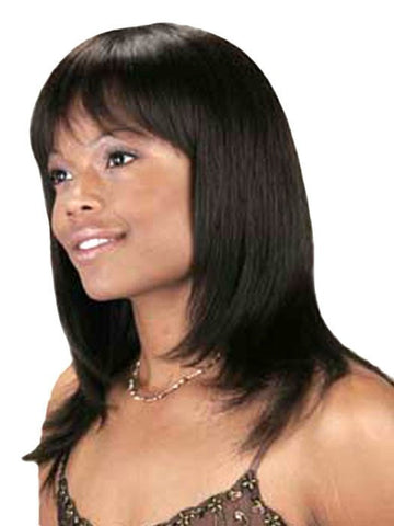 H-6540 TARA Wig by Motown Tress | 1B Jet Black