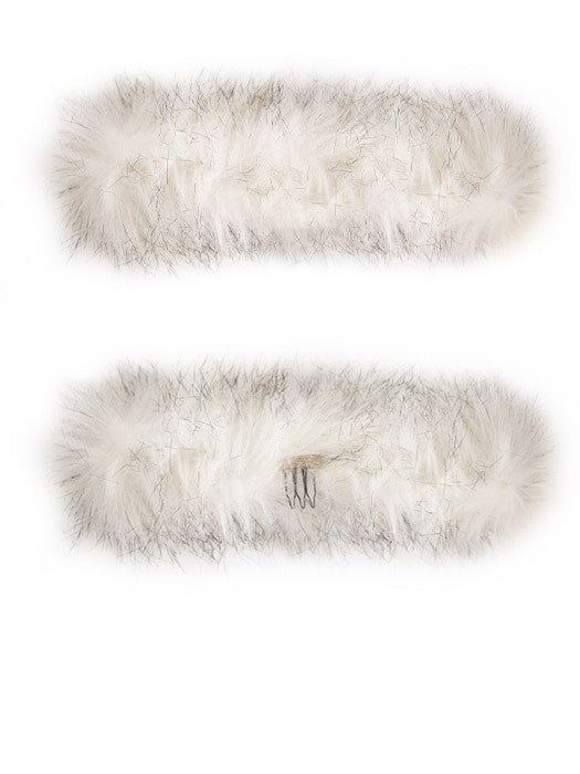Faux Fur Snap Wrap | Discontinued