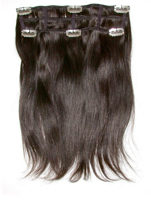"16"" Human Hair Extensions (2 Piece) 