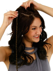 "16"" Clip In Long Braid (1pc) 