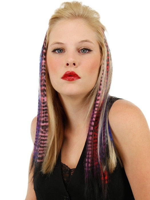 "16"" Tiger Print Hair Extensions (1pc) 