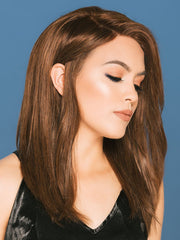 SIENNA by JON RENAU in 8RN COCOA NATURAL | Medium Gold Brown (Human Hair Renau Natural*)
