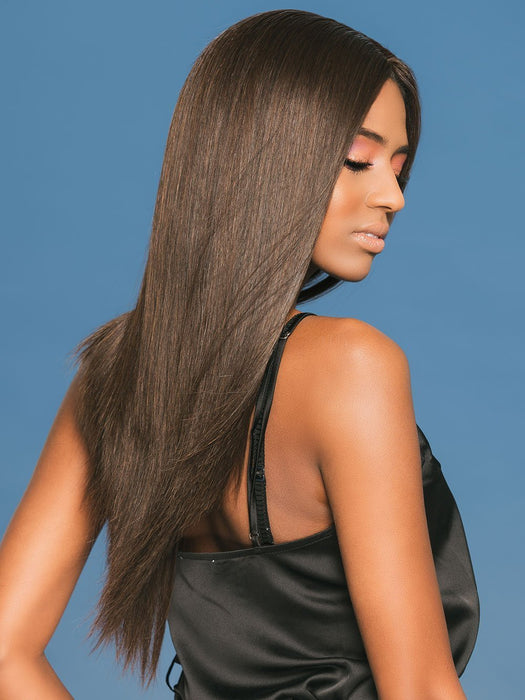 CHRISTINA by WIGPRO in 1B | Off Black (This piece has been styled and straightened)