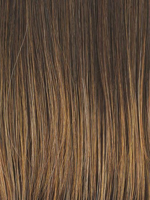 RL8/29 HAZELNUT | Medium Brown With Ginger Red Highlights