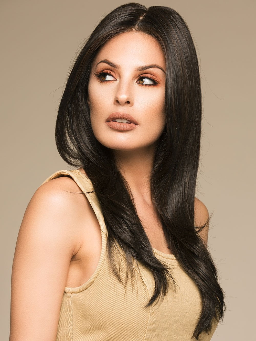 SCENE STEALER by RAQUEL WELCH in RL2/4 OFF BLACK | Black Evenly Blended with Dark Brown Highlights