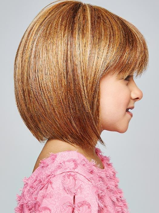 Soft texture is perfectly layered throughout to create a beautiful salon-inspired bob