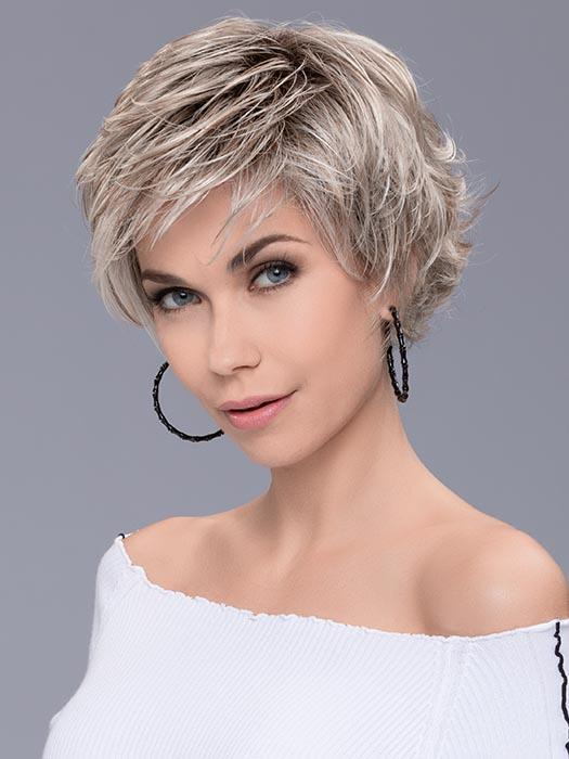 A trendy, playful shag cut with flipped out layers