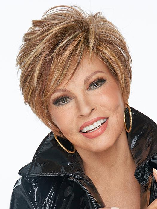 ON YOUR GAME by RAQUEL WELCH in RL29/25 GOLDEN RUSSET | Ginger Blonde Evenly Blended with Medium Golden Blonde