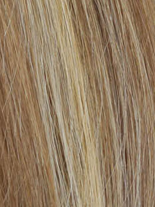 R12/26H | Light Brown with Golden Blonde Highlights