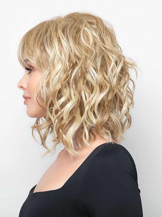 BREEZY WAVEZ by Rene of Paris in CREAMY-TOFFEE | Light Platinum Blonde and Light Honey Blonde evenly blended