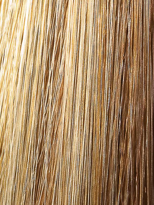 1425 HONEY GINGER | Dark Blonde base with Golden Blonde Frosted evenly throughout