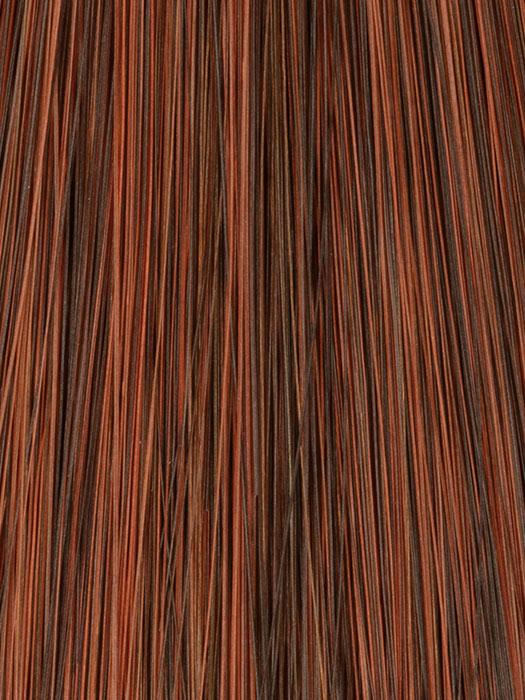 30/33 CHESTNUT RED | Mahogany with Copper Red Highlights and Tips