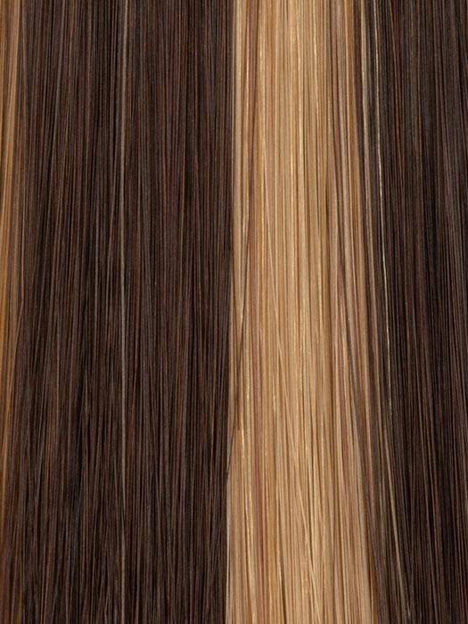 6/25 GOLDEN BROWN | Dark Blonde, Light Brown, and Chocolate Brown blended