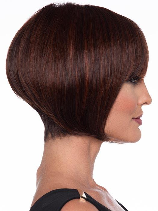 Yuri Wig by Envy makes a definitive statement with her neck-hugging taper and gentle volume
