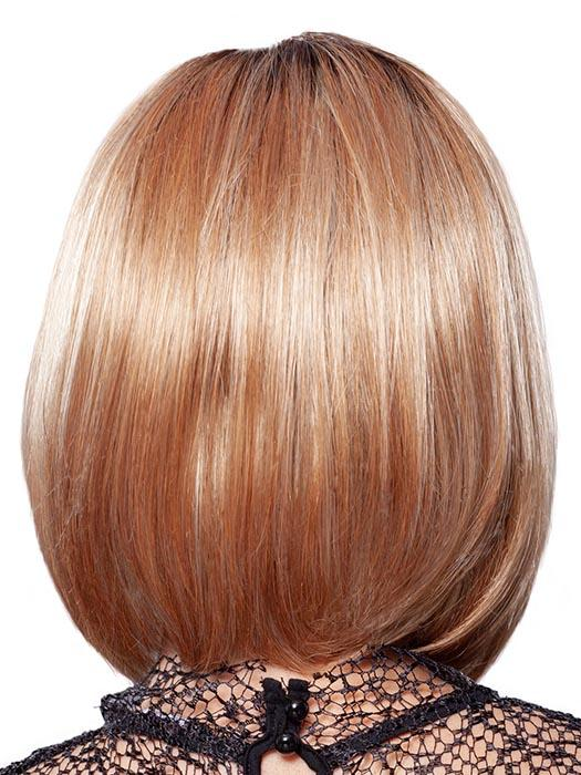 MIMOSA-HL | Light Red Brown with Dark Brown roots and Pale Blonde highlights