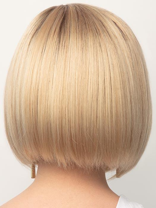 CRÈME-BRULEE | Medium Golden Blonde with Light Blonde highlights and Dark Blonde roots