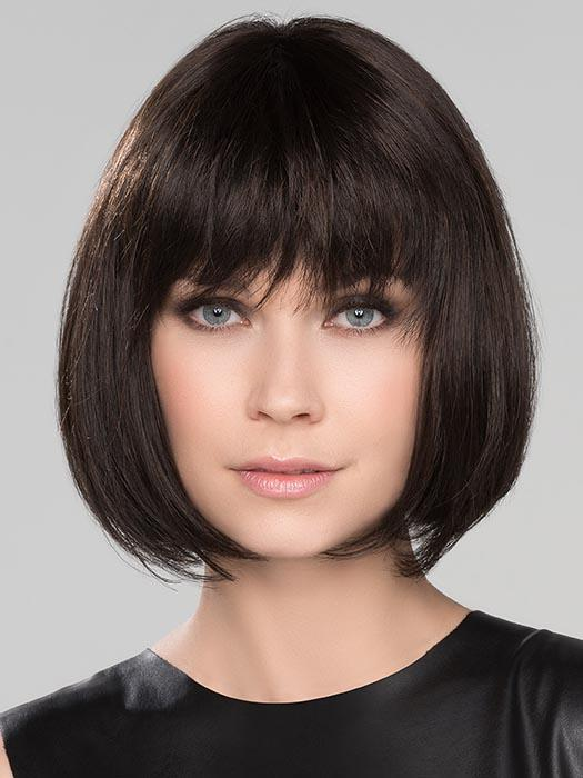 A charming perfect length Bob that hits slightly below the chin line