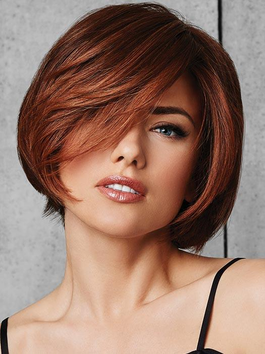 CLASSIC FLING by HAIRDO in R3025S+ | Glazed Cinnamon - Medium Reddish Brown with Ginger Blonde highlights