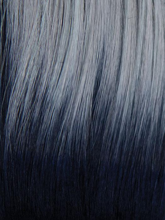 FROZEN-SAPPHIRE | Icey Blue Base with Indigo Black Roots
