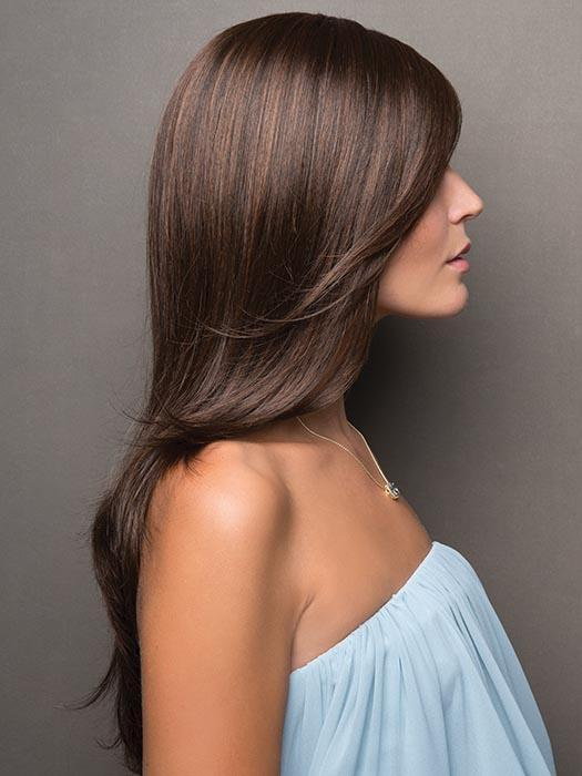 The layers give a full and flowing look, Noriko has updated the Angelica with a monofilament part