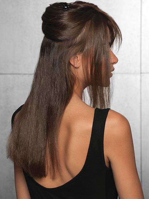 The human hair means it can be styled sleek or curled depending on your mood