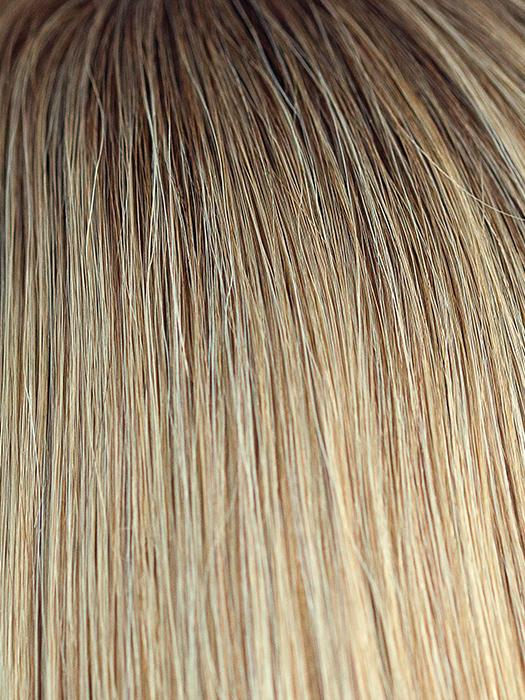 MOONLIGHT-BLONDE-R | Dark Blonde rooted with blend of Dark Ash Blonde and Light Blonde