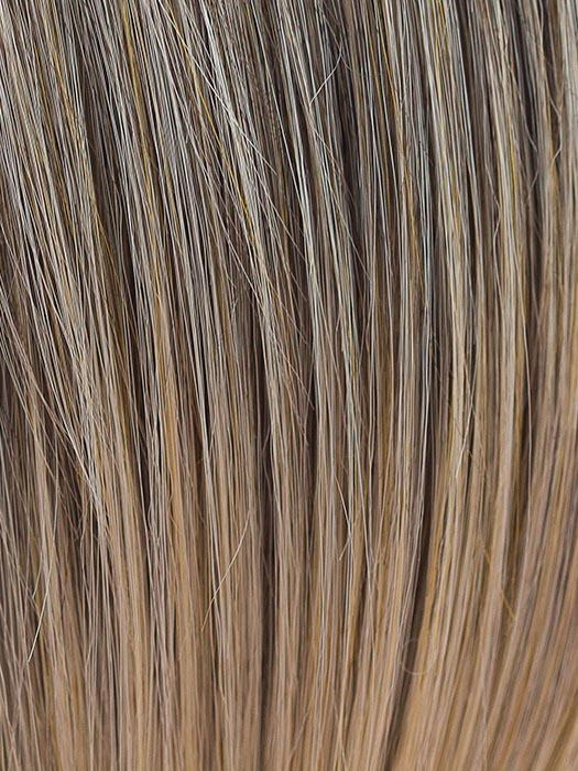 SUNNY SPICE | Medium Golden Blonde with Light Ginger lowlights and Light Brown roots