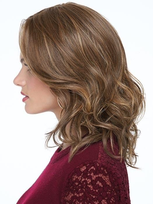 Pre-styled, ready-to-wear and can be styled with heat tools, it looks and feels like natural hair