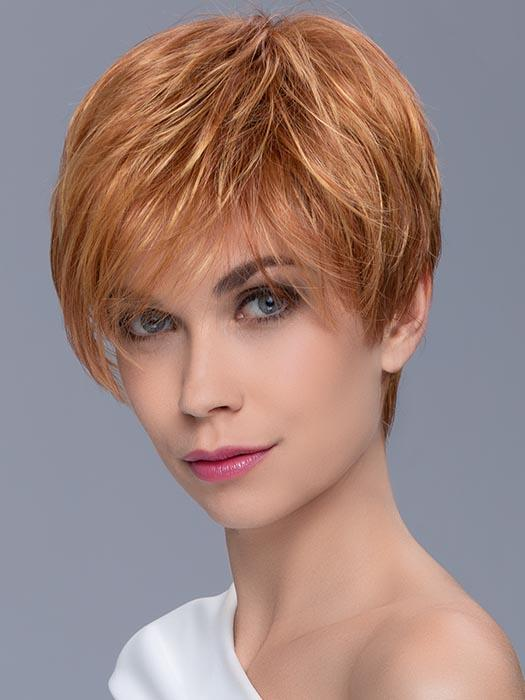 HOT by ELLEN WILLE in MANGO MIX | Light Copper Red, Light Golden Blonde, and Medium Auburn blend