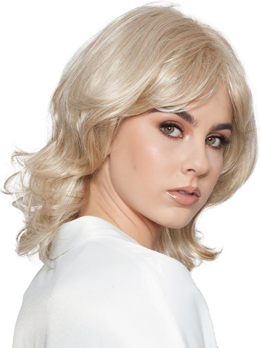 Iris by Wig Pro is a layered shoulder length style with a short layered bang