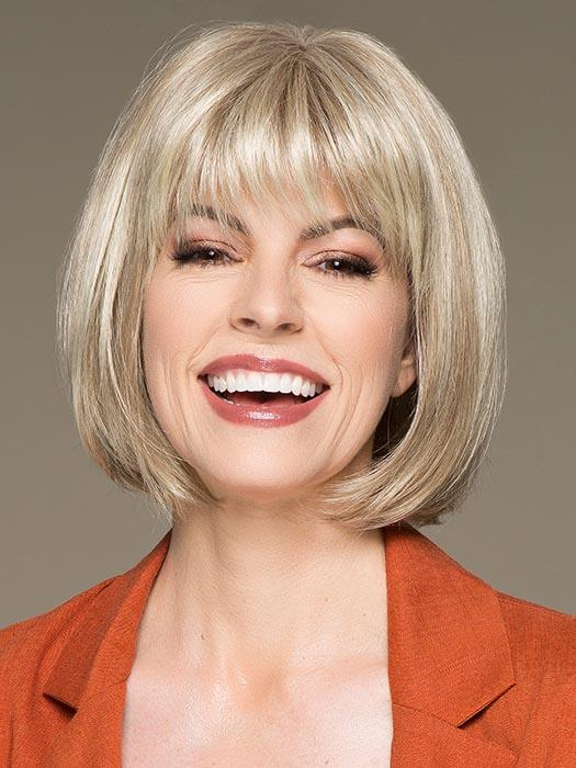 SUE MONO by ELLEN WILLE in CHAMPAGNE MIX | Light Beige Blonde, Medium Honey Blonde, and Platinum Blonde blend