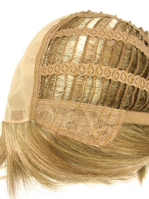 Double Monofilament and Lace Front Cap Construction