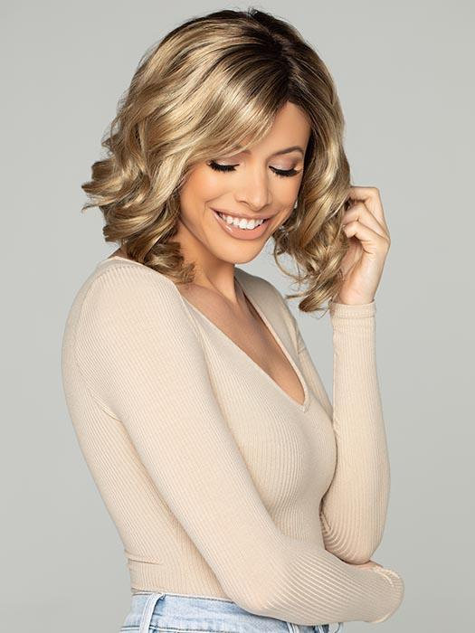A chin-length, layered bob