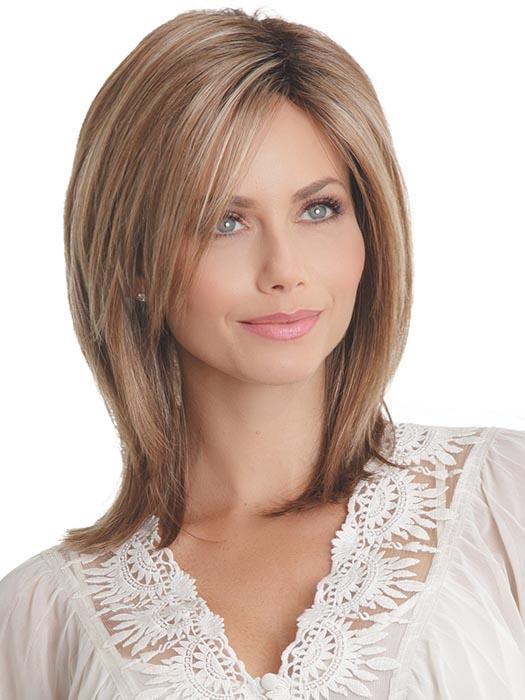 Textured edges and side-swept bangs