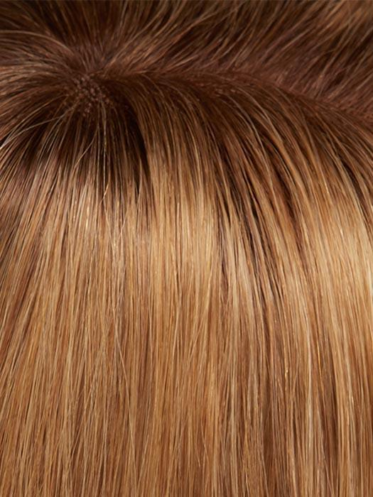 14/26S10 SHADED PRALINES N' CREAM | Light Gold Blonde and Medium Red-Gold Blonde Blend, Shaded with Light Brown