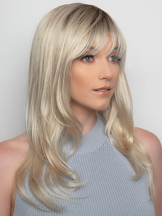 A gorgeous shag with razored layers for a beautiful look