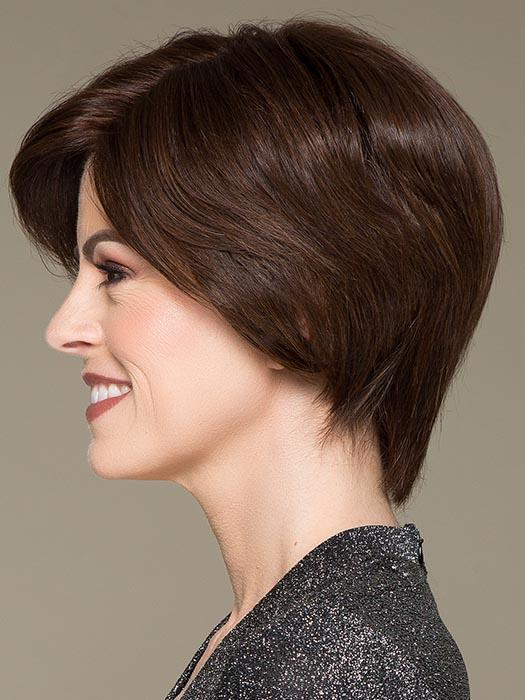 DIA by ELLEN WILLE in DARK CHOCOLATE MIX | Dark Brown base with Light Reddish Brown highlights