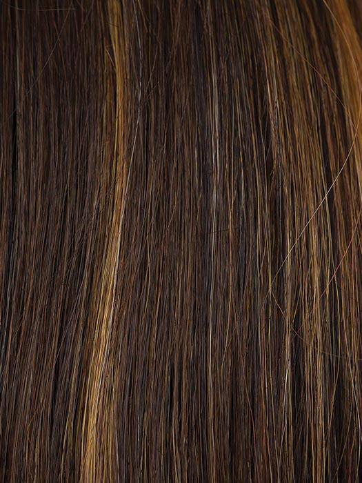 SEPIA | Medium Brown with Copper Red highlights and Dark Brown lowlights