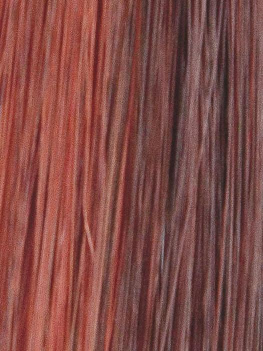 SHEER-PLUM | Dark Auburn and Bright Red blend