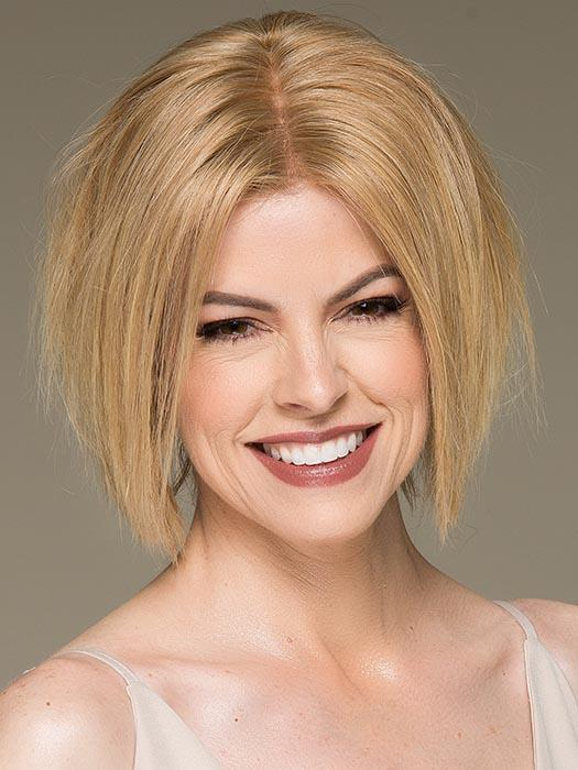 COSMO bY ELLEN WILLE in SANDY BLONDE MIX | Medium Honey Blonde, Light Ash Blonde, and Lightest Reddish Brown blend