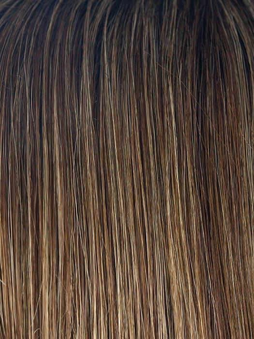 ICED-MOCHA-R | Light Brown with Light Reddish Brown Highlights