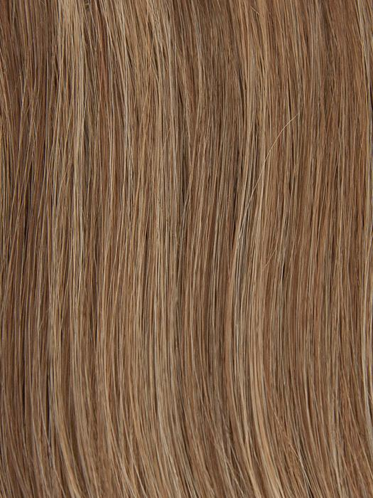 PECAN-TWIST | Medium Red Brown blended with Medium Gold Blonde