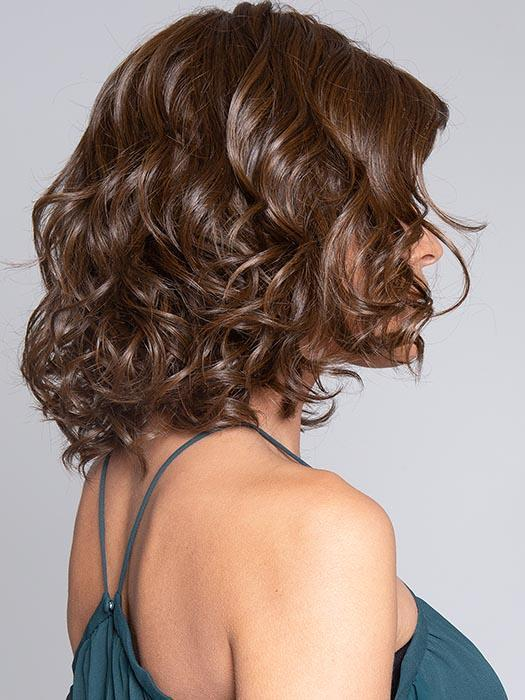 EDITOR'S PICK ELITE by RAQUEL WELCH in RL6/8 DARK CHOCOLATE | Medium Brown Evenly Blended with Warm Medium Brown