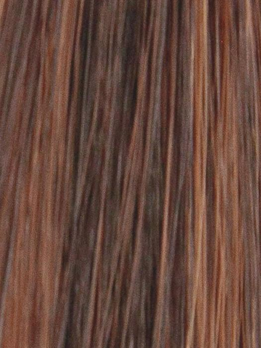 DEEP-SEPIA | Medium Auburn and Medium Brown blend