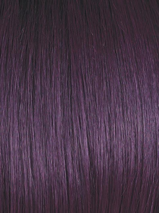 MIDNIGHT-IRIS | Blend of Darkest Brown and Dark Violet with Black Roots
