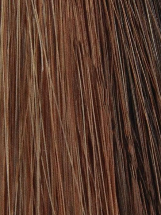 COLA-SWIRL | Dark Brown Medium Auburn with Light Blonde highlights